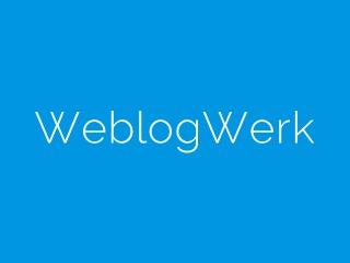 WeblogWerk - Tuerkis WordPress blog theme