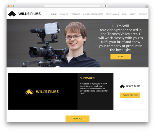 Free WordPress WP SEO HTML Sitemap plugin - willsfilms.co.uk
