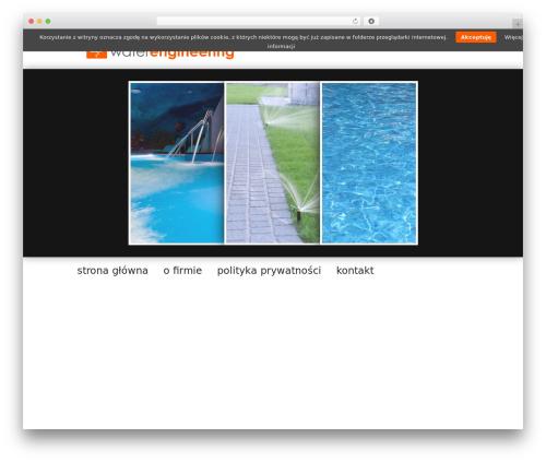 Free WordPress CMS Navigation plugin - waterengineering.pl