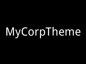 WordPress theme Mycorptheme