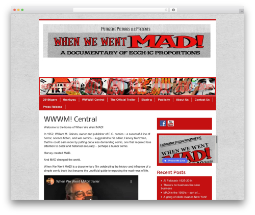 Free WordPress BigContact Contact Page plugin - whenwewentmad.com