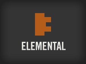 WordPress website template Elemental