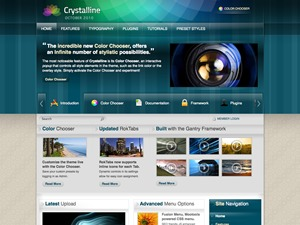 WP template Crystalline