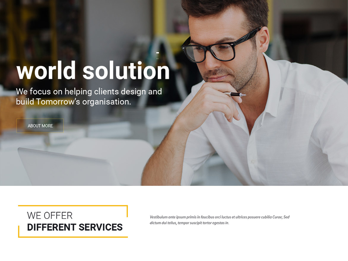 Accountant WP top WordPress theme