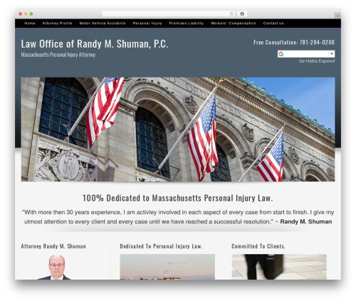 Best WordPress template Optimal - rmshuman.com