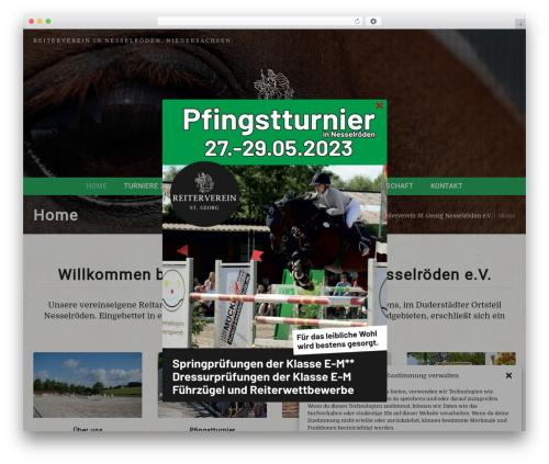 Equestrian theme WordPress - reiterverein-nesselroeden.de