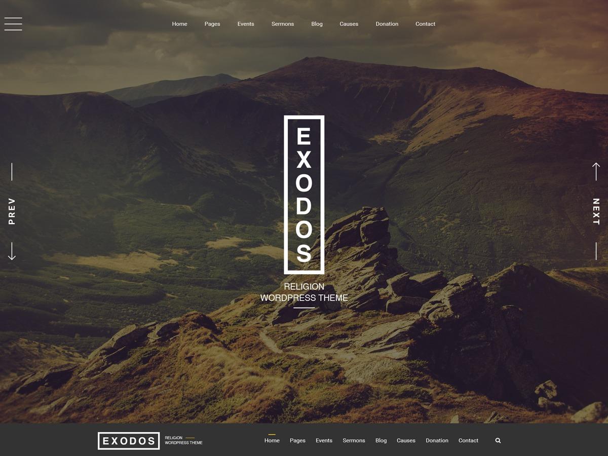 ExodosWP WordPress theme