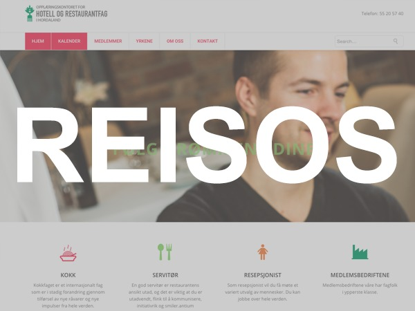 Reisos best restaurant WordPress theme