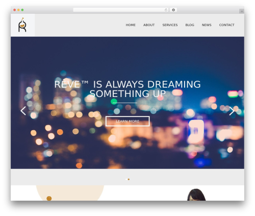 Reve WordPress theme - revemadison.com