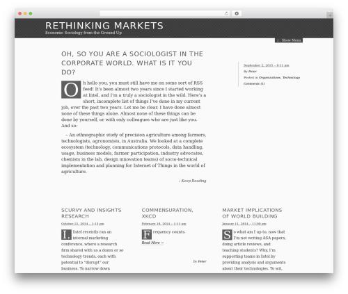 Theme WordPress The Erudite - rethinkingmarkets.org