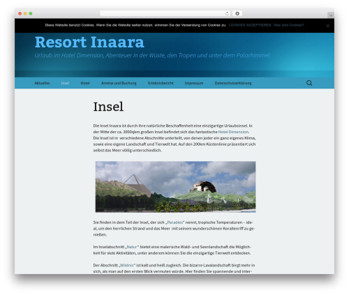 Twenty Thirteen free website theme - resort-inaara.com