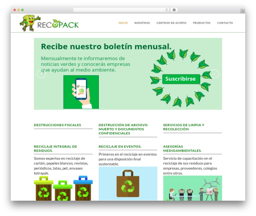 WordPress template Bridge (Shared on MafiaShare.net) - recopackmexico.com