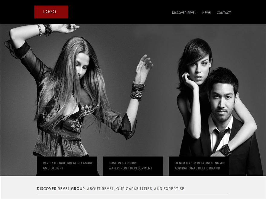 WordPress theme RevelGroup