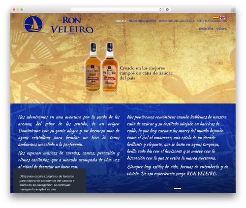 WordPress theme The7 - ronveleiro.com