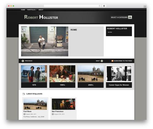 Aperture best WordPress gallery - roberthollister.com