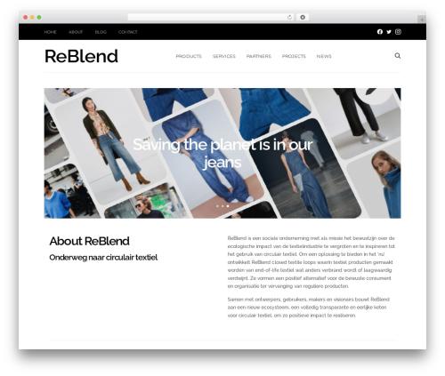 Free WordPress Unyson plugin - reblend.nl