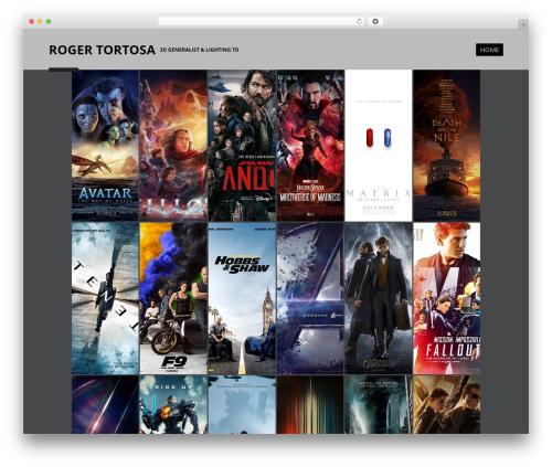 Boldial WordPress theme - rogertortosa.com