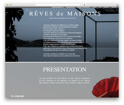 Formation WordPress template free download - revesdemaisons.fr