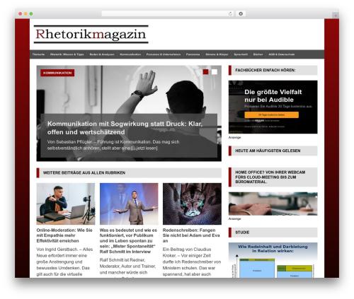 Free WordPress Top 10  – Popular posts plugin for WordPress plugin - rhetorikmagazin.de