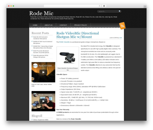 Snowblind template WordPress free - rodemic.org