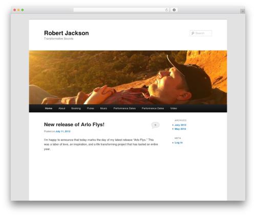 Twenty Eleven theme WordPress free - robertjackson.me