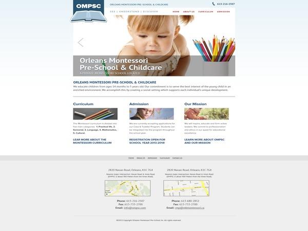 WordPress theme OMPSC