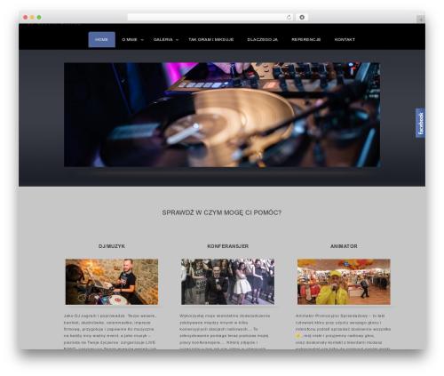 Best WordPress template Complete - robertjastrzebski.pl