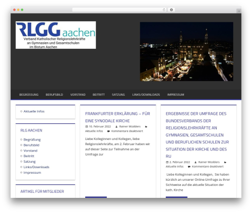 Best WordPress template Tortuga - rlg-aachen.de