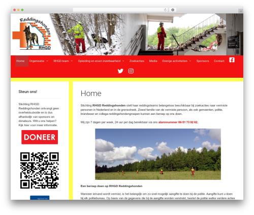 Forefront WordPress theme - rhgd.nl