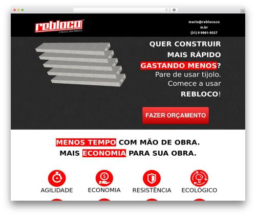 Formation best free WordPress theme - rebloco.com.br