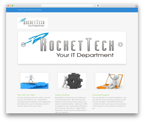 WordPress theme Eclipse Pro 3 - rockettechweb.com