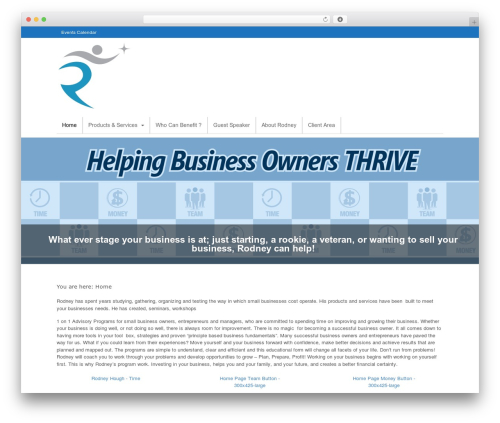 Canvas WordPress shop theme - rodneyhough.com