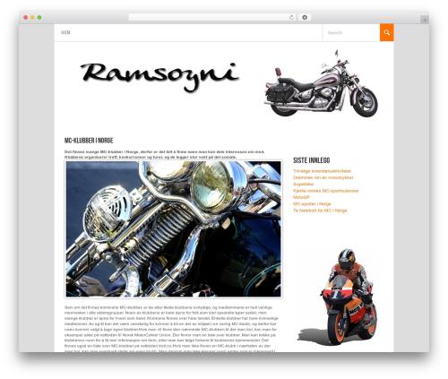 Koenda WordPress theme - ramsoyni.net