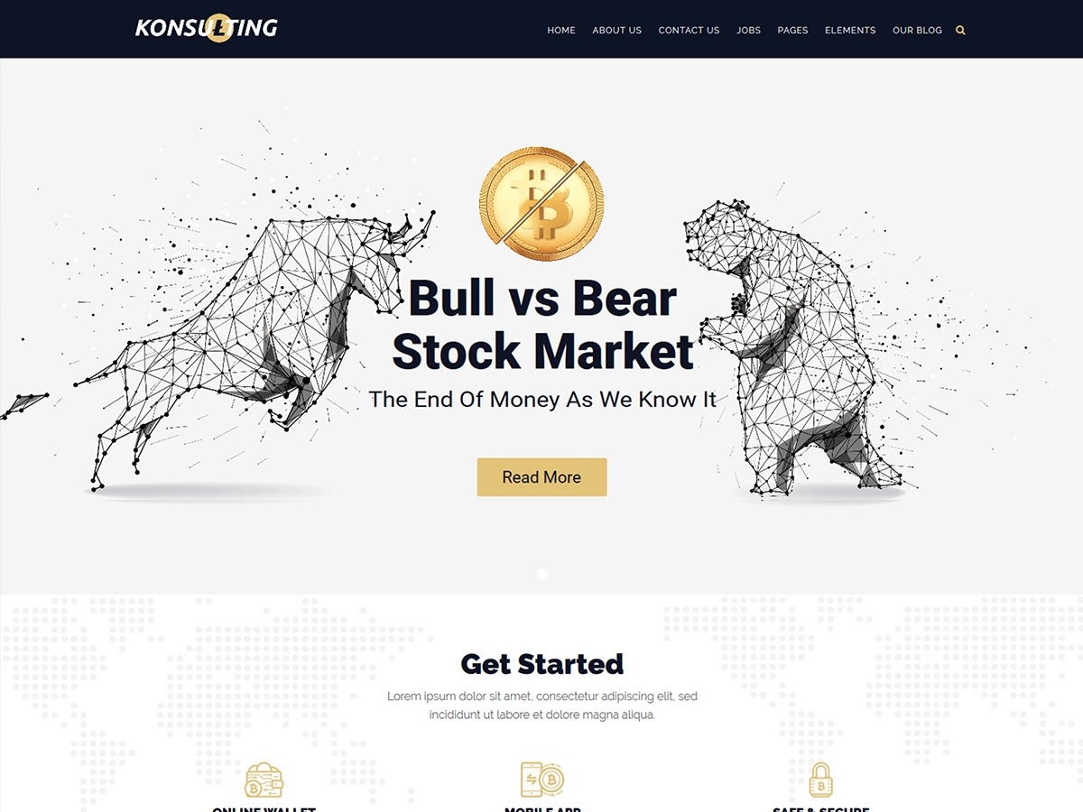 Konsulting WordPress website template