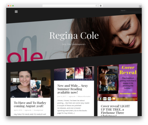 Oblique WordPress theme download - reginacole.net