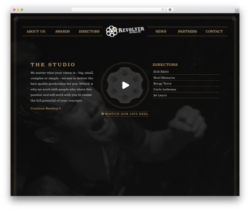 Revolver WordPress theme - revolver.ph