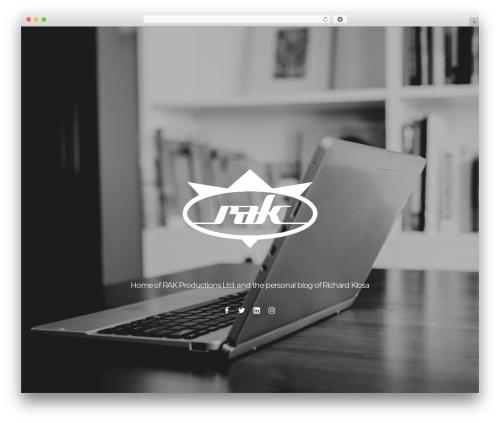 Theme WordPress Themify Parallax - richardklosa.com