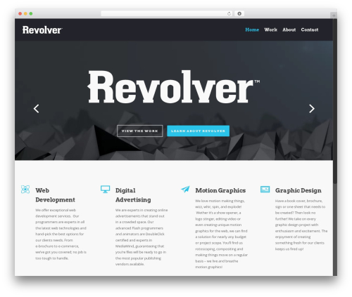 WP template Salient - revolveradvertising.com
