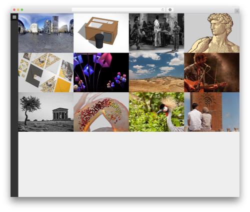 Huge WP theme - royvanpelt.nl