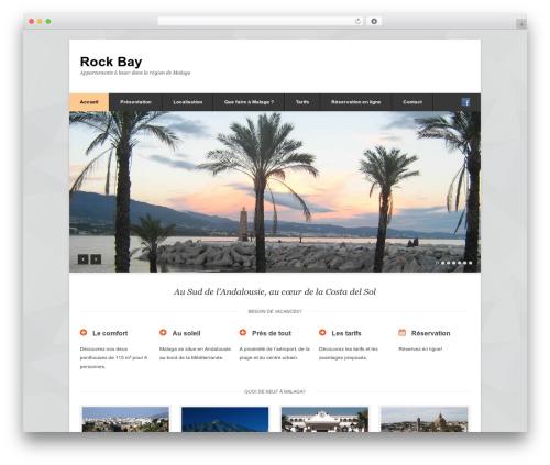 Pytheas WordPress theme - rockbay.eu
