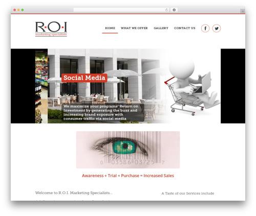 Quare premium WordPress theme - roi-marketing.com