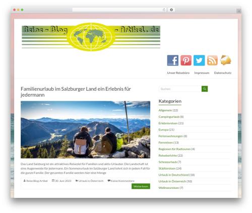 Free WordPress Social Share WordPress Plugin – AccessPress Social Share plugin - reise-blog-artikel.de