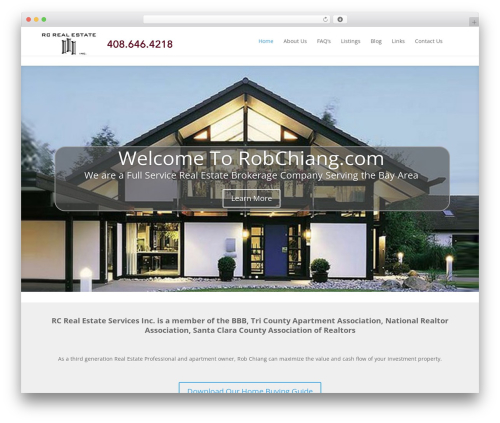 Theme WordPress Divi - robchiang.com
