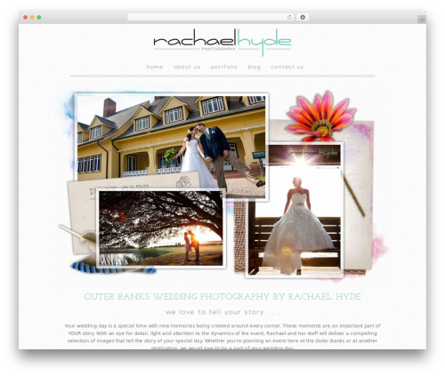 Theme WordPress Modular - rachaelhyde.com