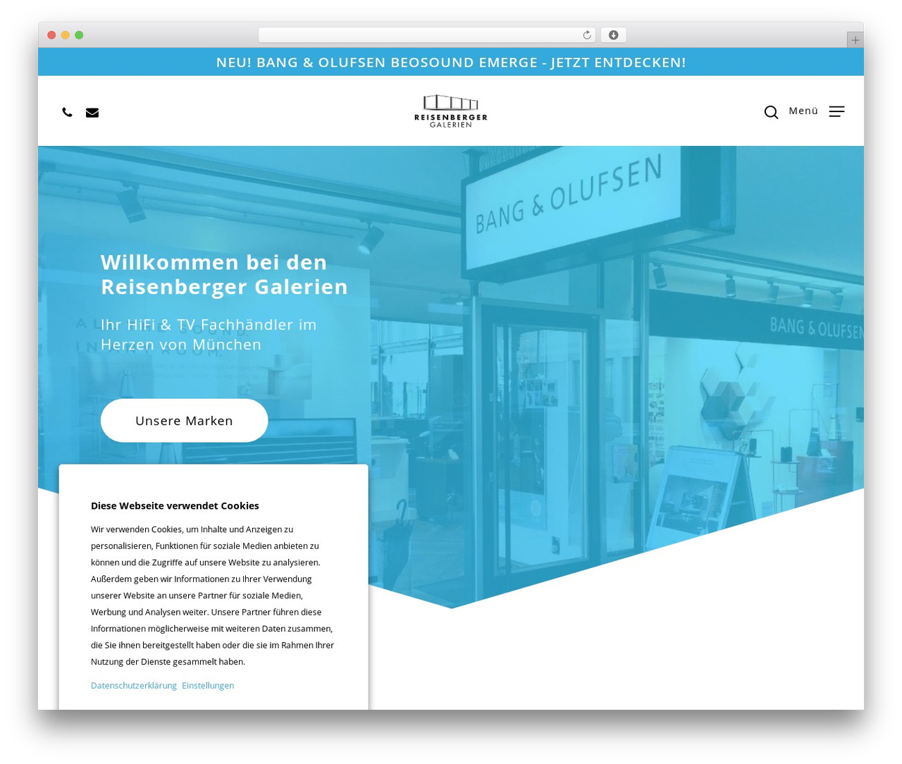 Theme WordPress Salient - reisenberger.de