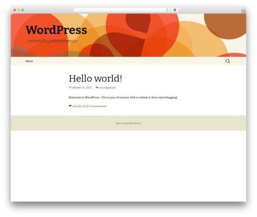 Twenty Thirteen template WordPress free - retoriktips.se