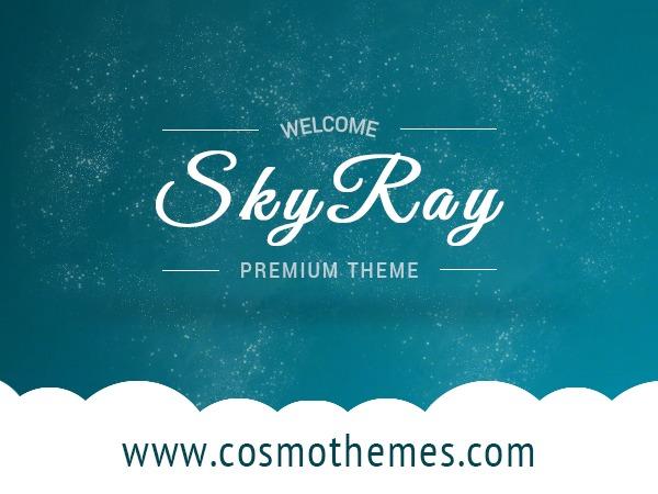 WordPress template Skyray