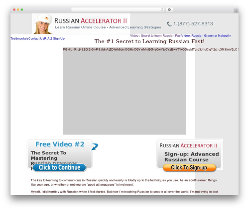 Best WordPress template Alyeska - russian-accelerator2.com