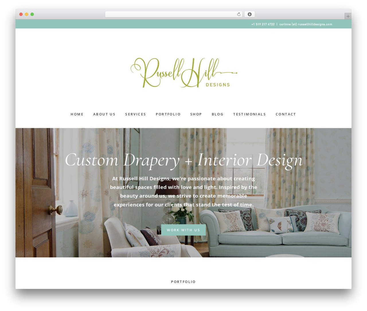 Gallery Pro wallpapers WordPress theme - russellhilldesigns.com