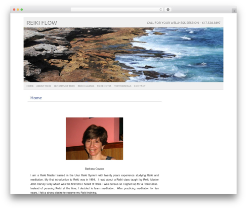 picolight WordPress theme - reiki-flow.com